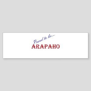 Arapaho Bumper Sticker