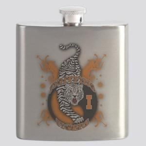 Fighting Tigers Flask