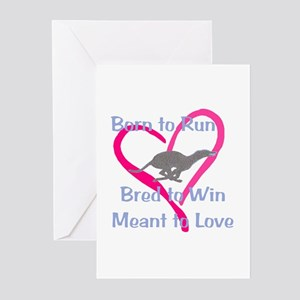 Born to Love Greeting Cards (Pk of 10)