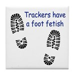 Foot Fetish Tile Coaster