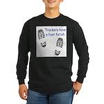 Foot Fetish Long Sleeve Dark T-Shirt