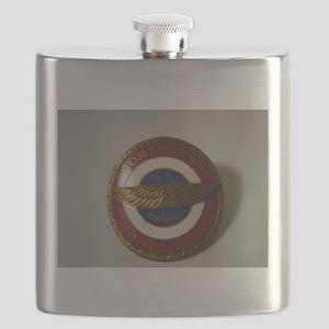 US Airmail NWA Flask