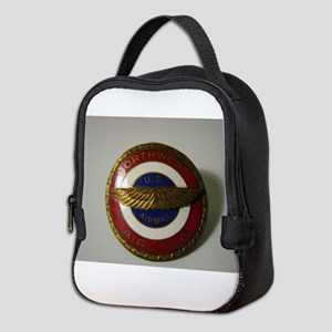 US Airmail NWA Neoprene Lunch Bag