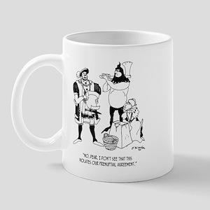 Henry VIII's Prenup Mug