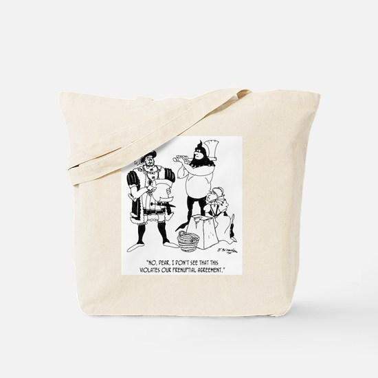 Henry VIII's Prenup Tote Bag