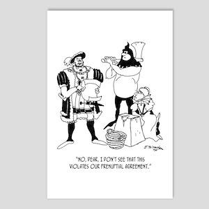Henry VIII's Prenup Postcards (Package of 8)