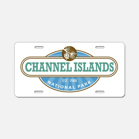 Channel Islands National Park Aluminum License Pla