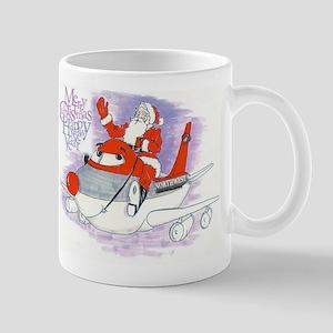 Northwest Airlines Seasons Greetings Mugs