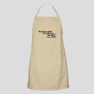 out of my sight Apron