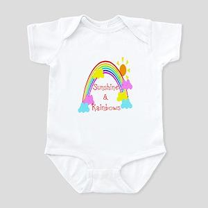 Sunshine Rainbows Infant Bodysuit