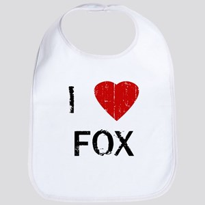 I Heart FOX (Vintage) Bib