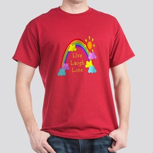 Rainbow Love Dark T-Shirt