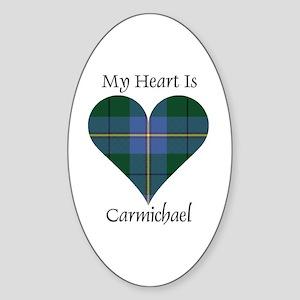 Heart - Carmichael Sticker (Oval)