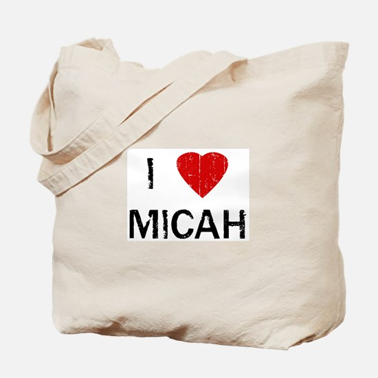 I Heart MICAH (Vintage) Tote Bag