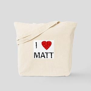 I Heart MATT (Vintage) Tote Bag