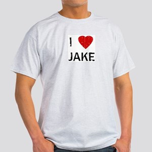 I Heart JAKE (Vintage) Ash Grey T-Shirt