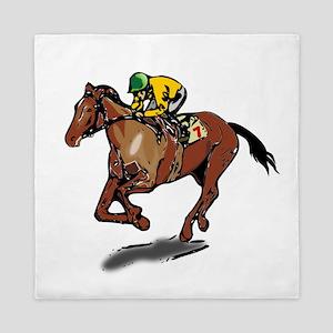 Race Horse Queen Duvet