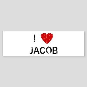 I Heart JACOB (Vintage) Bumper Sticker