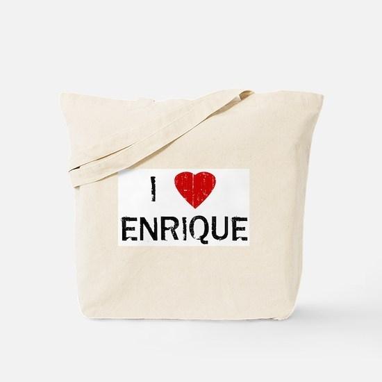 I Heart ENRIQUE (Vintage) Tote Bag