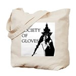 TRANSCEND THE WRITING HEARTCAGE SOCIETY Tote Bag