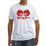 money shot Fitted T-Shirt