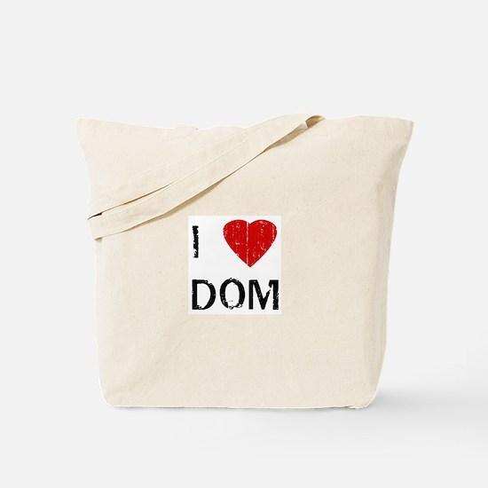 I Heart DOM (Vintage) Tote Bag
