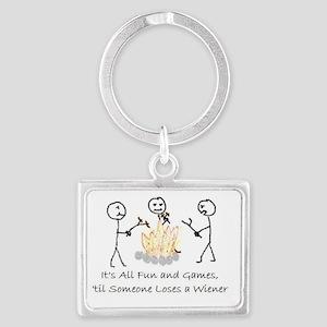 Lost Wiener Landscape Keychain