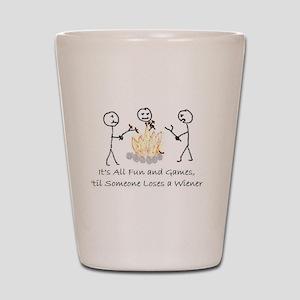 Lost Wiener Shot Glass