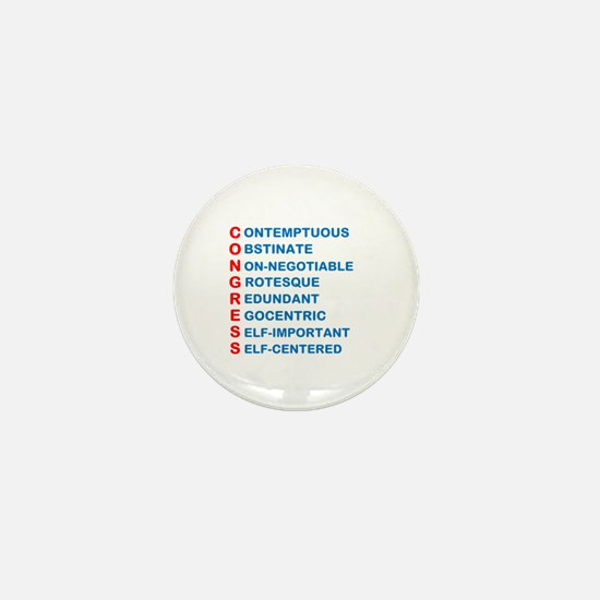 Congress Acronym Mini Button