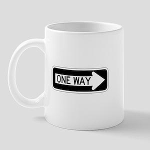 One Way Right - USA Mug
