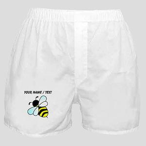 Custom Bumble Bee Boxer Shorts