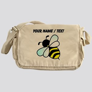 Custom Bumble Bee Messenger Bag