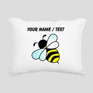 Custom Bumble Bee Rectangular Canvas Pillow