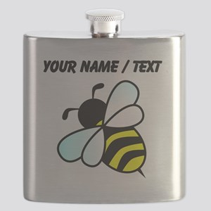 Custom Bumble Bee Flask