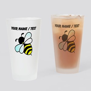 Custom Bumble Bee Drinking Glass