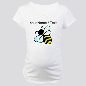 Custom Bumble Bee Maternity T-Shirt