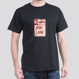 No Parking Bike Lane - USA Dark T-Shirt