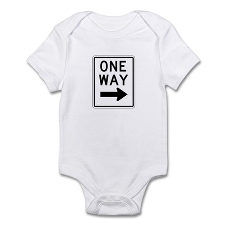 One Way Right 2 - USA Infant Bodysuit