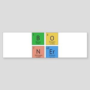 Chemistry Boner Sticker (Bumper)