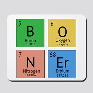 Chemistry Boner Mousepad