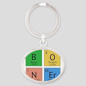 Chemistry Boner Oval Keychain