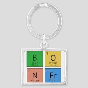 Chemistry Boner Landscape Keychain
