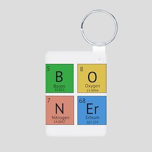 Chemistry Boner Aluminum Photo Keychain