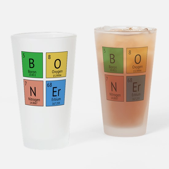 Chemistry Boner Drinking Glass