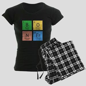 Chemistry Boner Women's Dark Pajamas