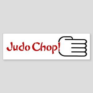 JUDO CHOP! bumpersticker