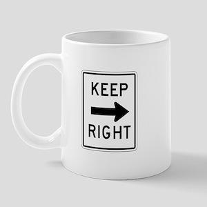 Keep Right - USA Mug