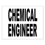 Chemical Engineer Small Poster