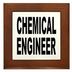 Chemical Engineer Framed Tile