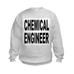 Chemical Engineer (Front) Kids Sweatshirt